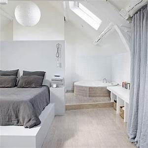 comment integrer une salle de bain dans une chambre With salle de bain dans chambre