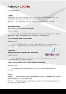 basic resume exles 2017 philippines resume format 2017 20 free word templates