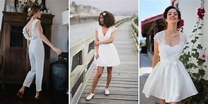 Tenue Pour Mariage Civil : tenue mariage civil 30 robes pour se marier la mairie ~ Nature-et-papiers.com Idées de Décoration