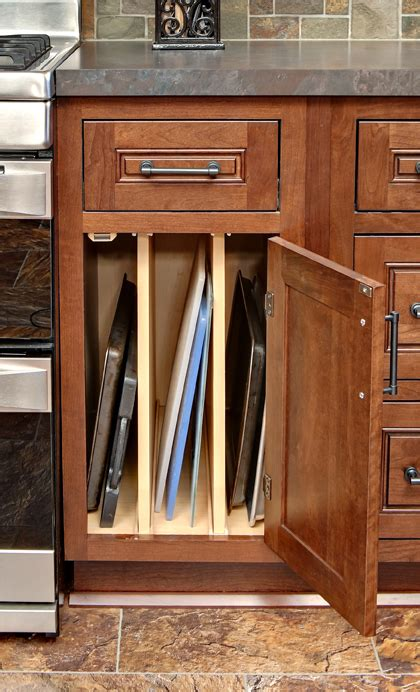 storage cabinet cookie baking kitchen cutting sheet sheets cabinets tray base cliqstudios pans board organizer solutions organization pizza dividers boards