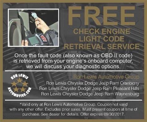 free check engine light auto service pittsburgh lewis automotive