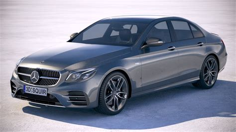 While the e53 sedan is rated for 22 mpg city and 29 mpg highway, both the coupe and convertible models scored lower estimates in the epa's testing. Mercedes-Benz E53 AMG Sedan 2019
