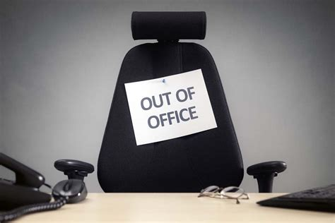 Out Of The Office? If So, Why Are You Stressing About Work