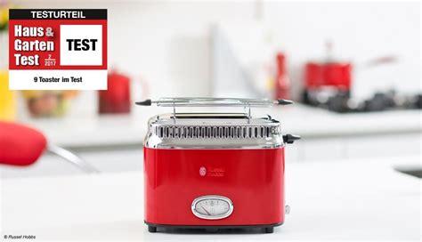 Im Test 9 Toaster Im Vergleichstest  Haus & Garten Test