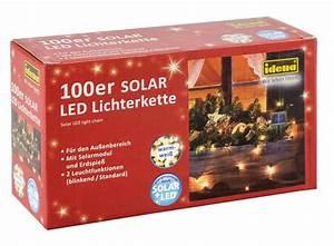 Led Lichterkette Außen Warmweiß : idena markenshop 100er solar led lichterkette warmwei f r au en 2 leuchtfunktionen ~ Eleganceandgraceweddings.com Haus und Dekorationen