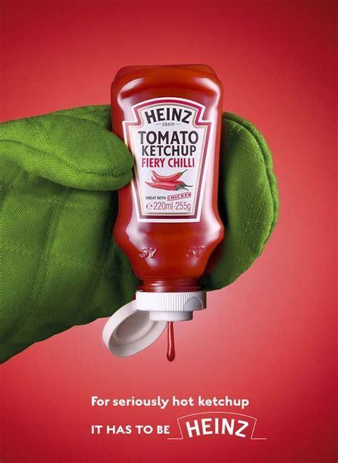 Heinz Fiery Chilli Tomato Ketchup | Ads creative, Creative ...