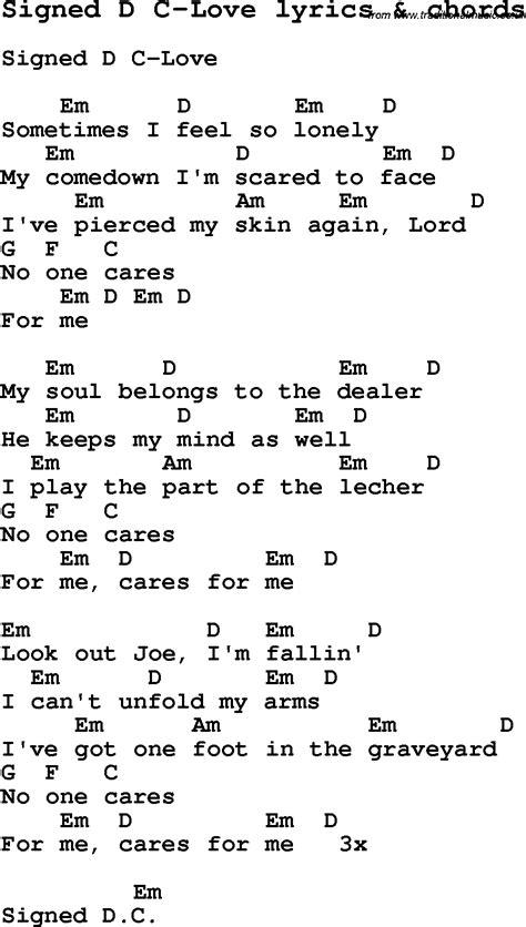 love song lyrics forsigned   love  chords