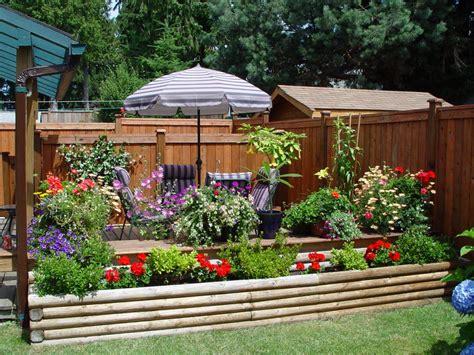 patio landscaping small garden patio design ideas light
