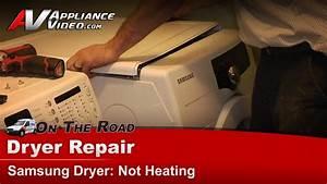 Samsung Dv210aewxaa Dryer Diagnostic And Repair  U2013 Not