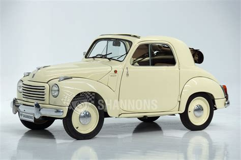 Sold Fiat 500 Topolino Coupe Auctions Lot 25 Shannons