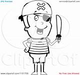 Pirate Eye Clipart Patch Coloring Boy Sword Holding Wearing Cartoon Vector Pages Thoman Cory Outlined Patche Trending Days Last Clipartmag sketch template