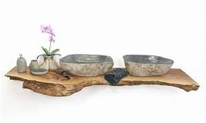 Waschtisch Für Aufsatzwaschbecken Aus Holz : waschtischplatte massivholz der fliesenonkel ~ Michelbontemps.com Haus und Dekorationen