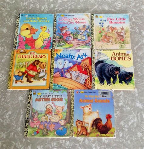 Op Shop Finds Whats Your Favourite Little Golden Book