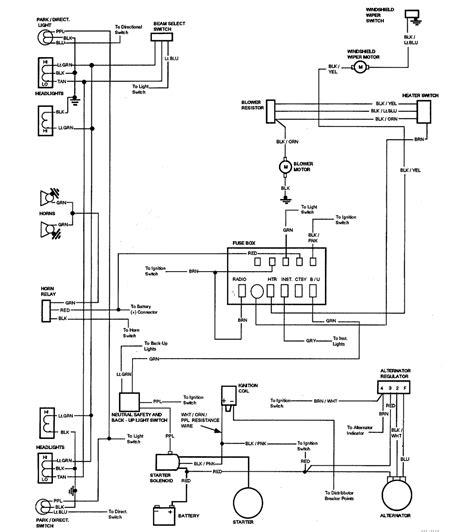 87 El Camino Wiring Diagram by Wiring Diagrams 59 60 64 88 El Camino Central Forum