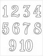 Black And White Number...Ten Clipart Black And White