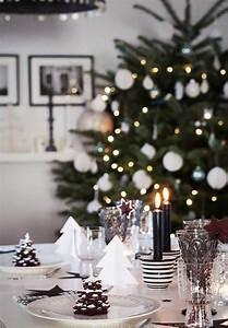 Idee Deco De Table Noel : table de noel pour merveiller les convives design feria ~ Zukunftsfamilie.com Idées de Décoration