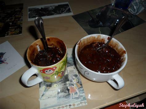 un dessert au chocolat mug cake au chocolat recette