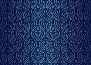 Blue and Silver Wallpaper