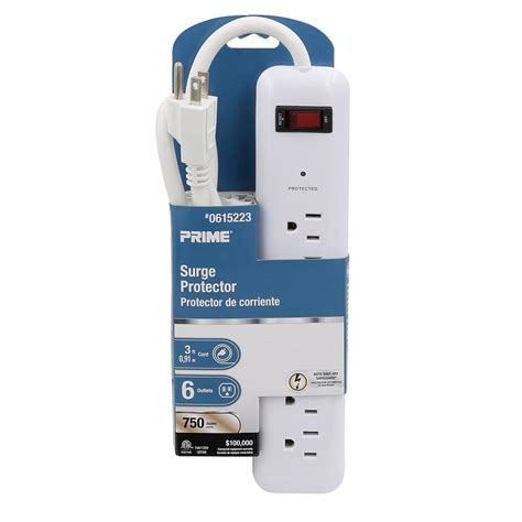 surge protector outlet prime protectors lowes safety joules tips auto blackbeard cruise any extension electrical utilitech general