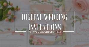 3 ways to embrace digital wedding invitations With digital video wedding invitations