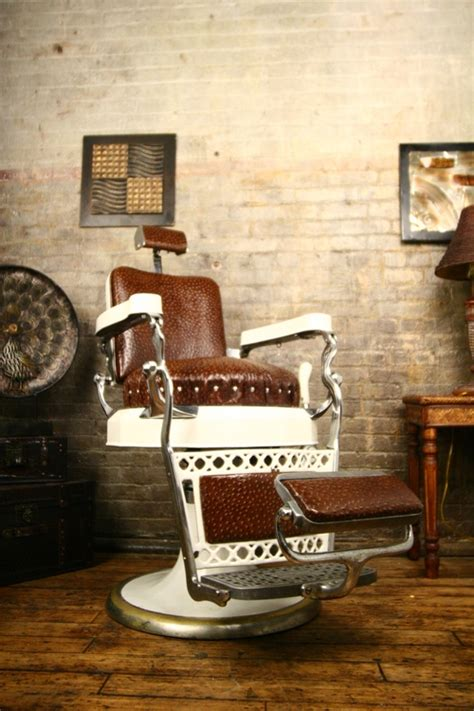 antique barber chairs value