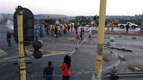 intelligence bureau sa protest in bronkhorstspruit witbank south africa