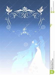 doves wedding invitations blue background matik for With wedding invitation templates doves