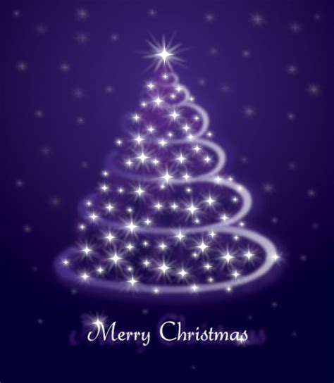 christmas shiny christmas tree about holiday purple