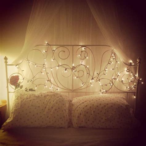 lights around bed bed bedroom princess ikea fairylights bedroom
