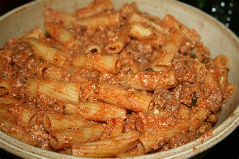 Baked Rigatoni with Ricotta Cheese