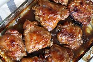 Sticky Teriyaki Baked Chicken Thighs - Real Life Dinner