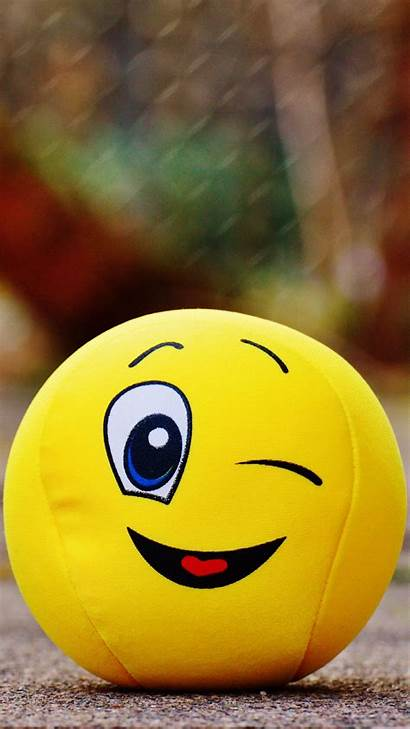 Smile Happy Wallpapers Ball Iphone Toy Smiley