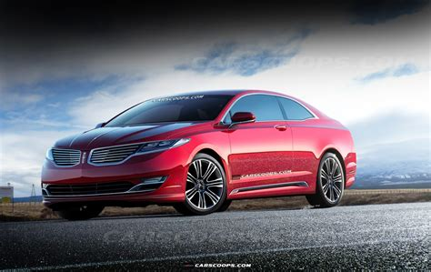 future cars a lincoln luxury coupe of mkz proportions carscoops