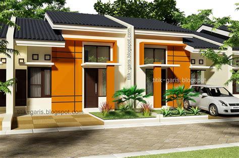 desain perumahan tipe   rumah garis