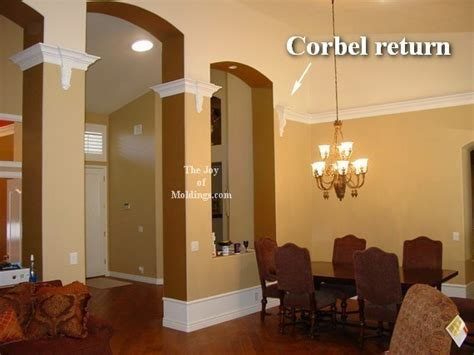 Corbelled Ceiling by Four Ways To Terminate A Crown Molding The Of Moldings