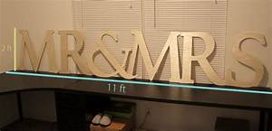 how to make a big wooden mr and mrs sign With mr and mrs large wooden letters