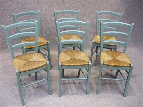 Set Of 6 French Style Country Chairs