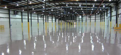 Industrial Epoxy, Urethane Concrete & MMA Resinous Floor