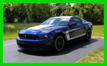 sell   ford mustang boss     manual