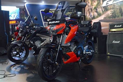 Suzuki Gsx S150 Touring Edition Image by Suzuki Gsx S150 Tourer Edition Launched In Indonesia