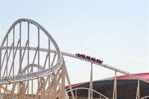 Ferrari world is still under construction on the yas island in abu dhabi. Roller coaster at Ferrari World in Abu Dhabi - Stock Editorial Photo © Patryk_Kosmider #45360161