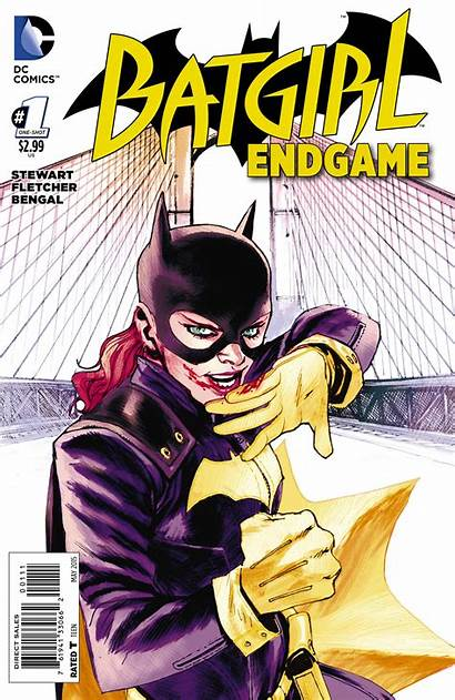 Batgirl Endgame Variant Dc Comics Albuquerque Rafael