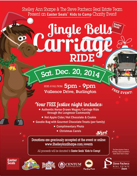 Free Event! Jingle Bells Carriage Ride 2015 Steve