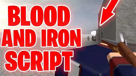 blood iron script move  weapons fast