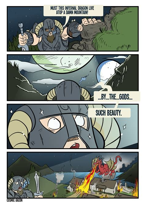 By The Moons Of Skyrim By Rathan Marxx On Deviantart