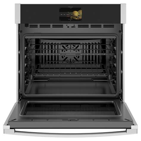 ge profile  built  convection single wall oven stainless steel ptssnss ge appliances