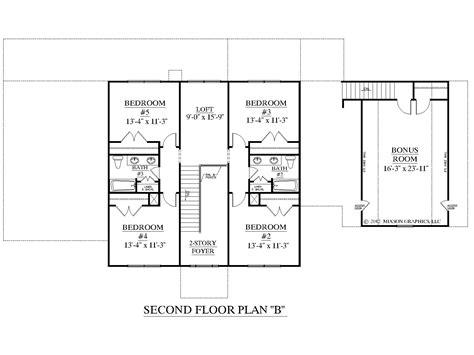 floor plans layout houseplans biz house plan 3397 b the albany b