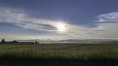 Landschaft, Meer, Natur, Gras, Horizont, Wolke, Sonne, Sonnenaufgang
