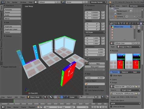 Building Template Blender by Kode80 Global Game Jam 2015 Prototype
