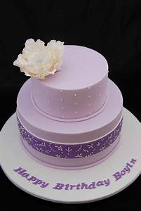 Little Robin: Purple Birthday Cake